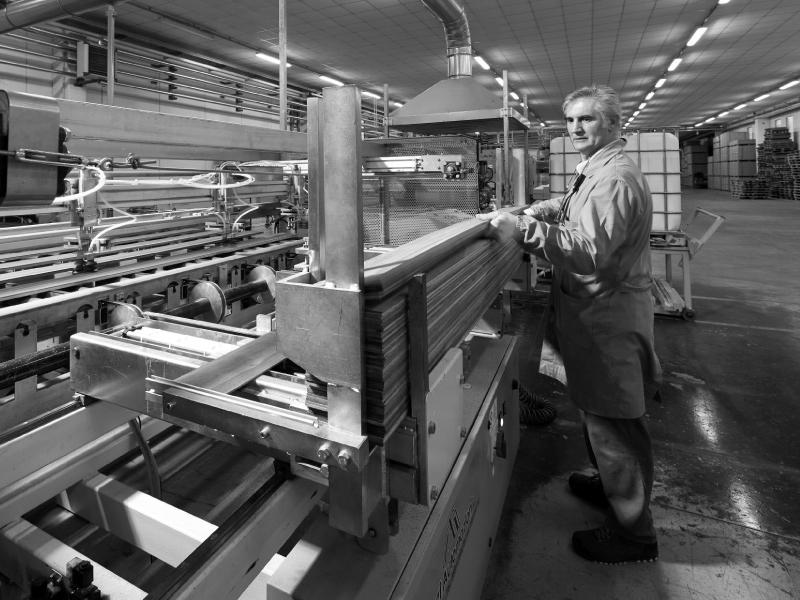 Lavorazione legno nobile per parquet di qualità