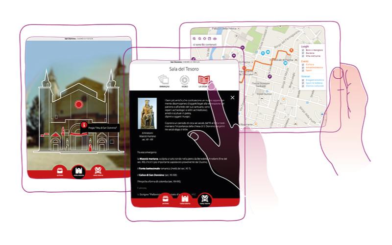 Realtà aumentata e navigazione indoor musei
