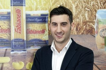 Luca Fabianelli, export manager del pastificio toscano Fabianelli