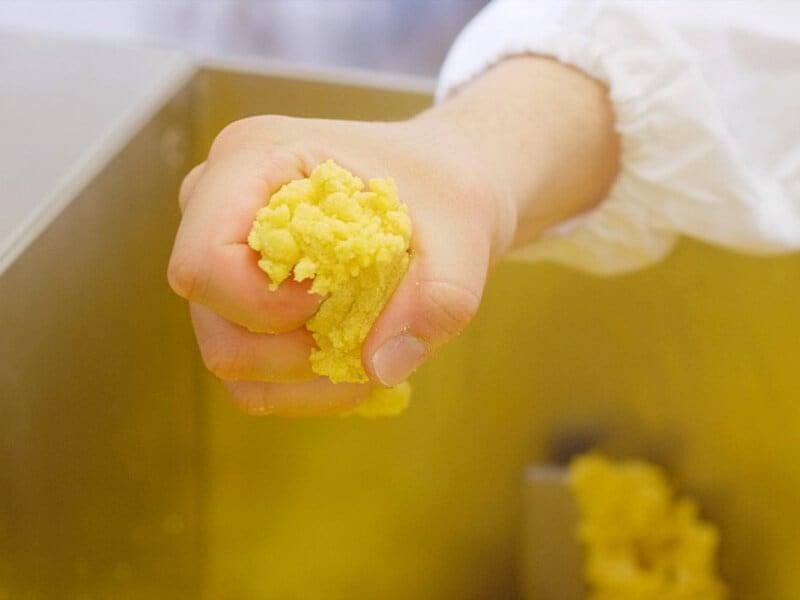 Pasta all'uovo secca fatta con metodo artigianale