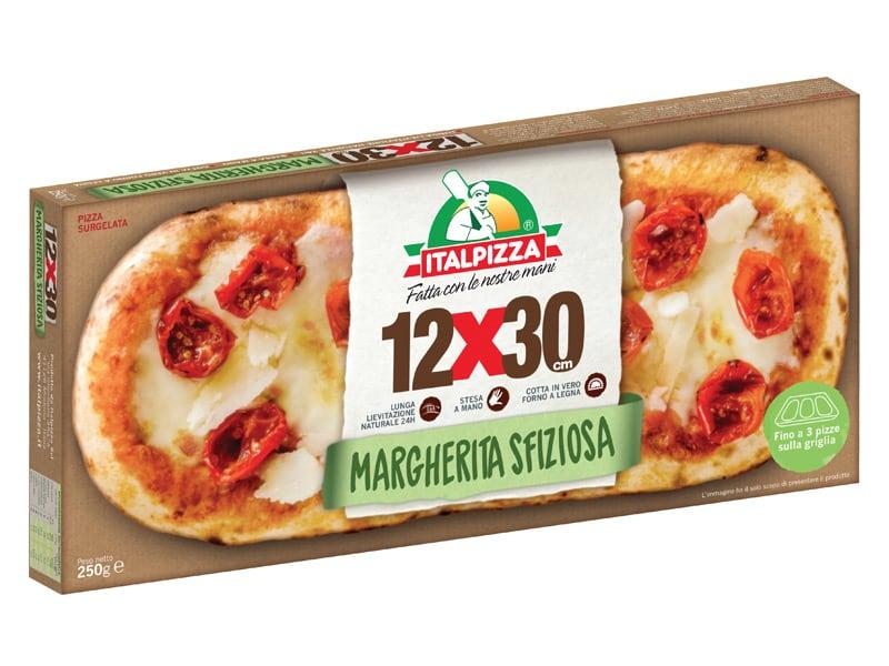 Nuova gamma 12x30 pizza rettangolare Italpizza
