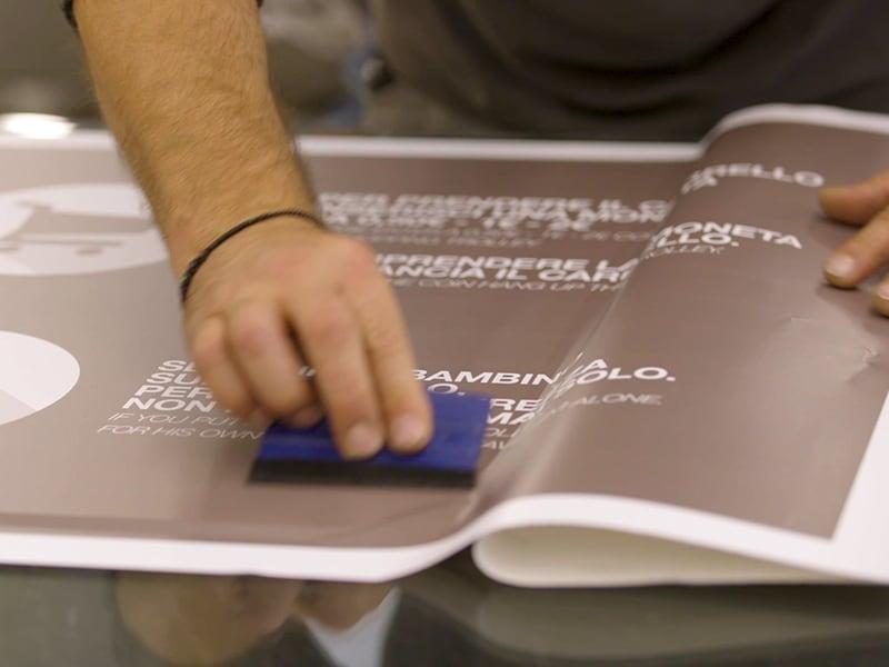 Stampa digitale, decorazioni espositori