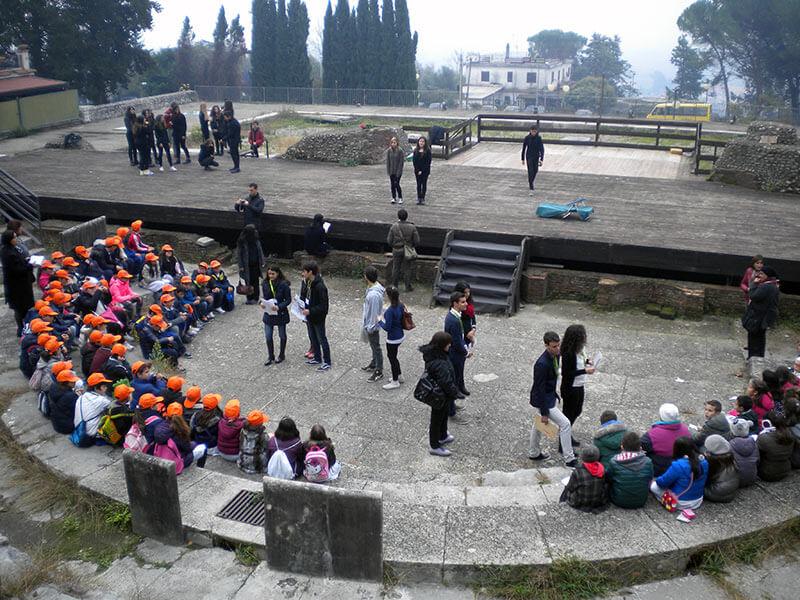 Studenti apprendisti ciceroni per la FAI