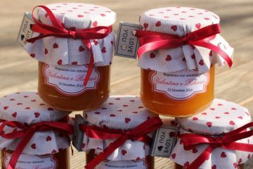 Bomboniere food per matrimoni realizzate da Wedding Lab Design, Umbria