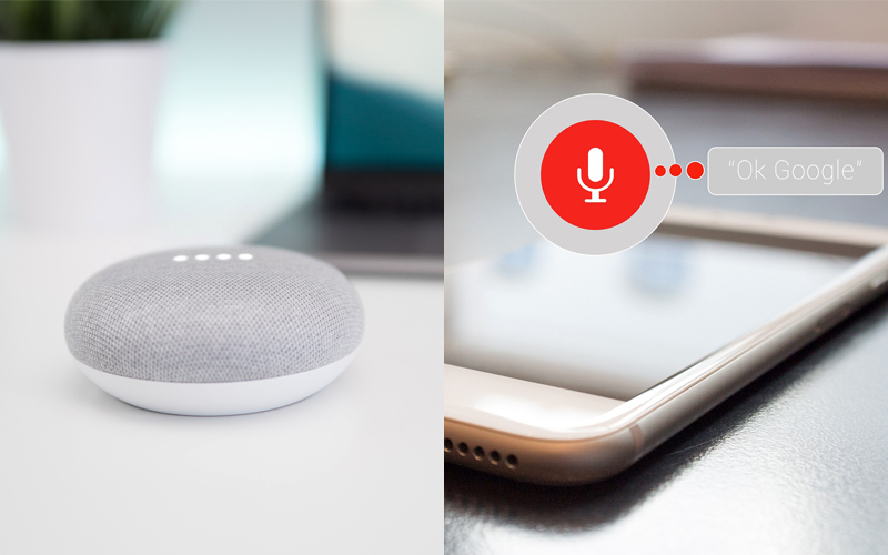Personal assistant vocale con tecnologia google