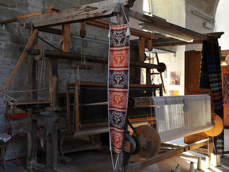 Museo laboratorio Giuditta Brozzetti tessile