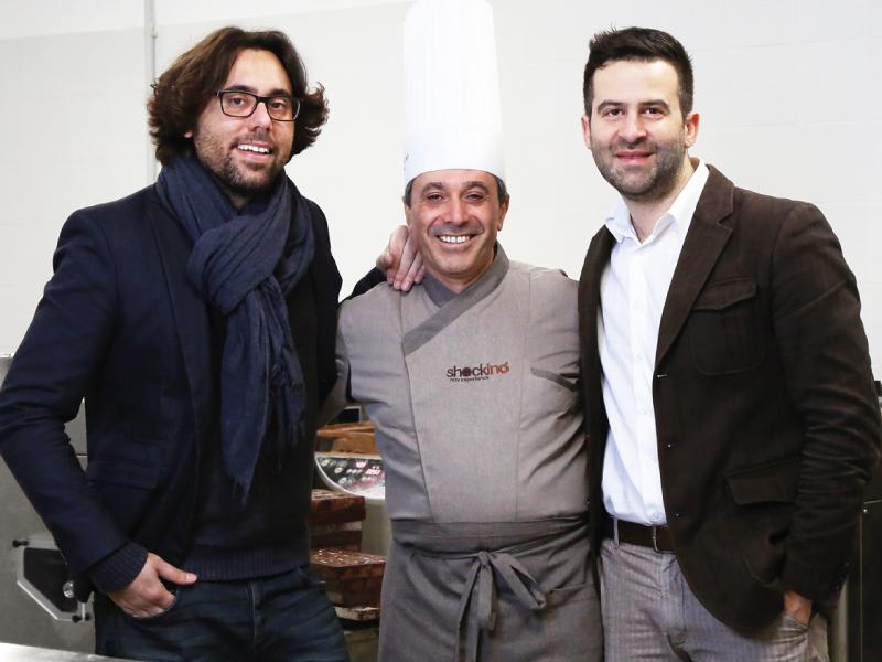 Il maestro pasticcere Paolo Caridi fra i titolari di Shockino