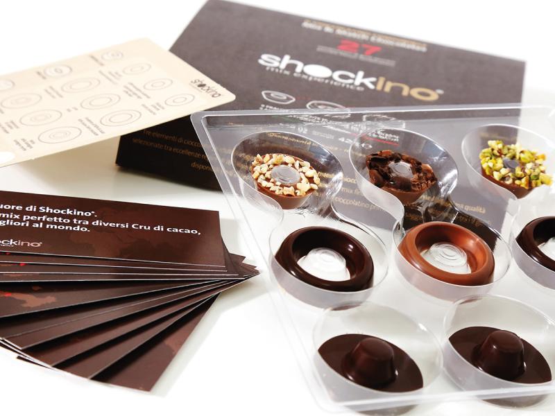 Cioccolatino componibile e personalizzabile