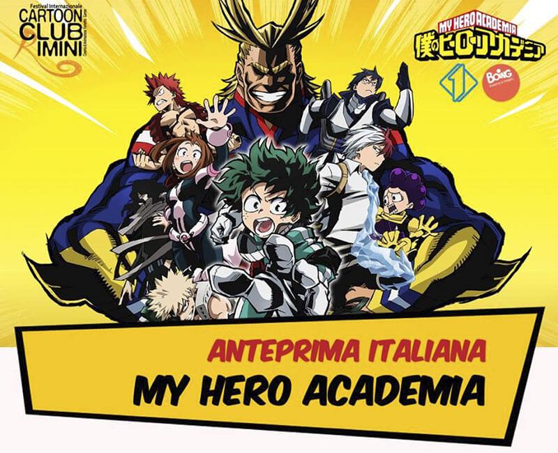 My Hero Academia: serie di avventure manga e anime giapponesi