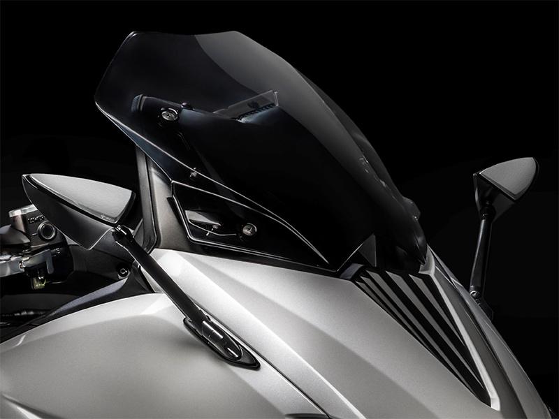 Retrovisori per montaggio a carena Yamaha T-Max 350