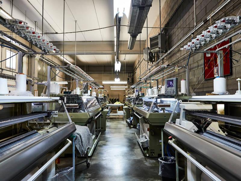 Le Tricot Perugia produzione cashmere, filati naturali