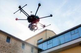 Riprese video professionali con droni