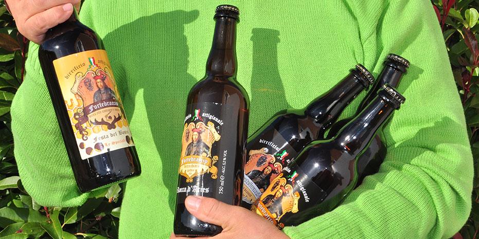 birre artigianali in bottiglia da Montone Perugia